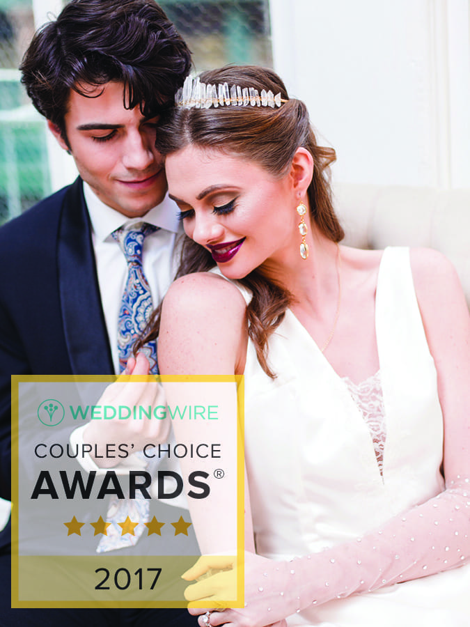 2017 WeddingWire Couples' Choice Award
