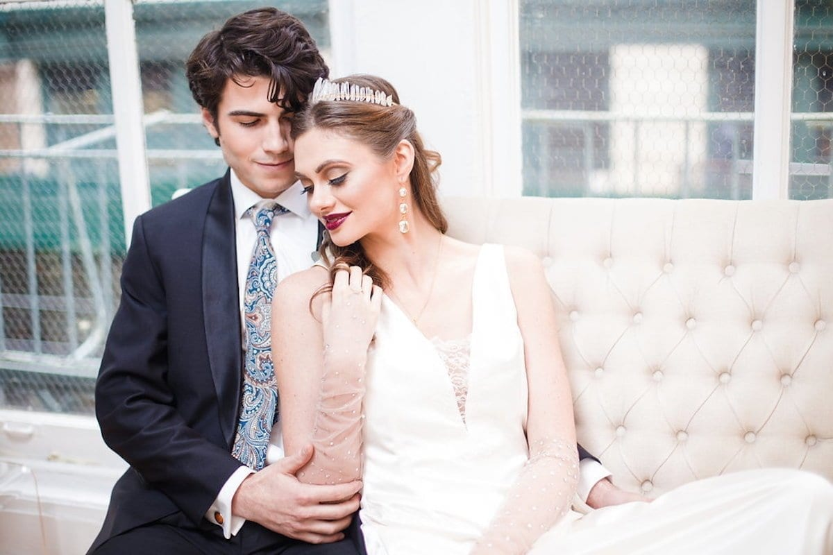 Modern Winter Wedding Inspiration