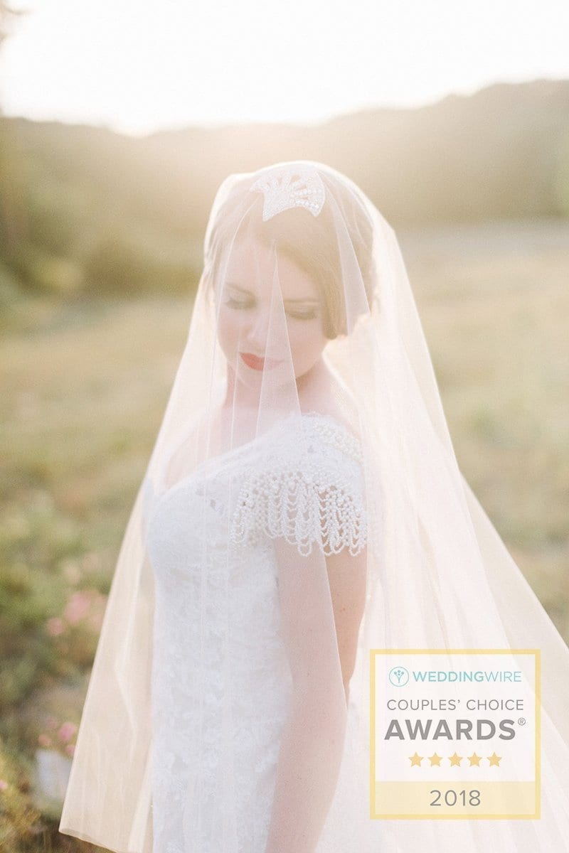Alyson Nicole 2018 WeddingWire Couples' Choice Award