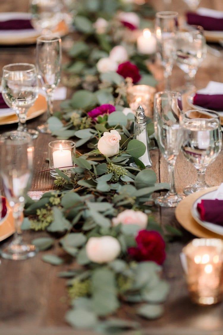 Photo Credits: Honey Photographs. Valentine's Wedding