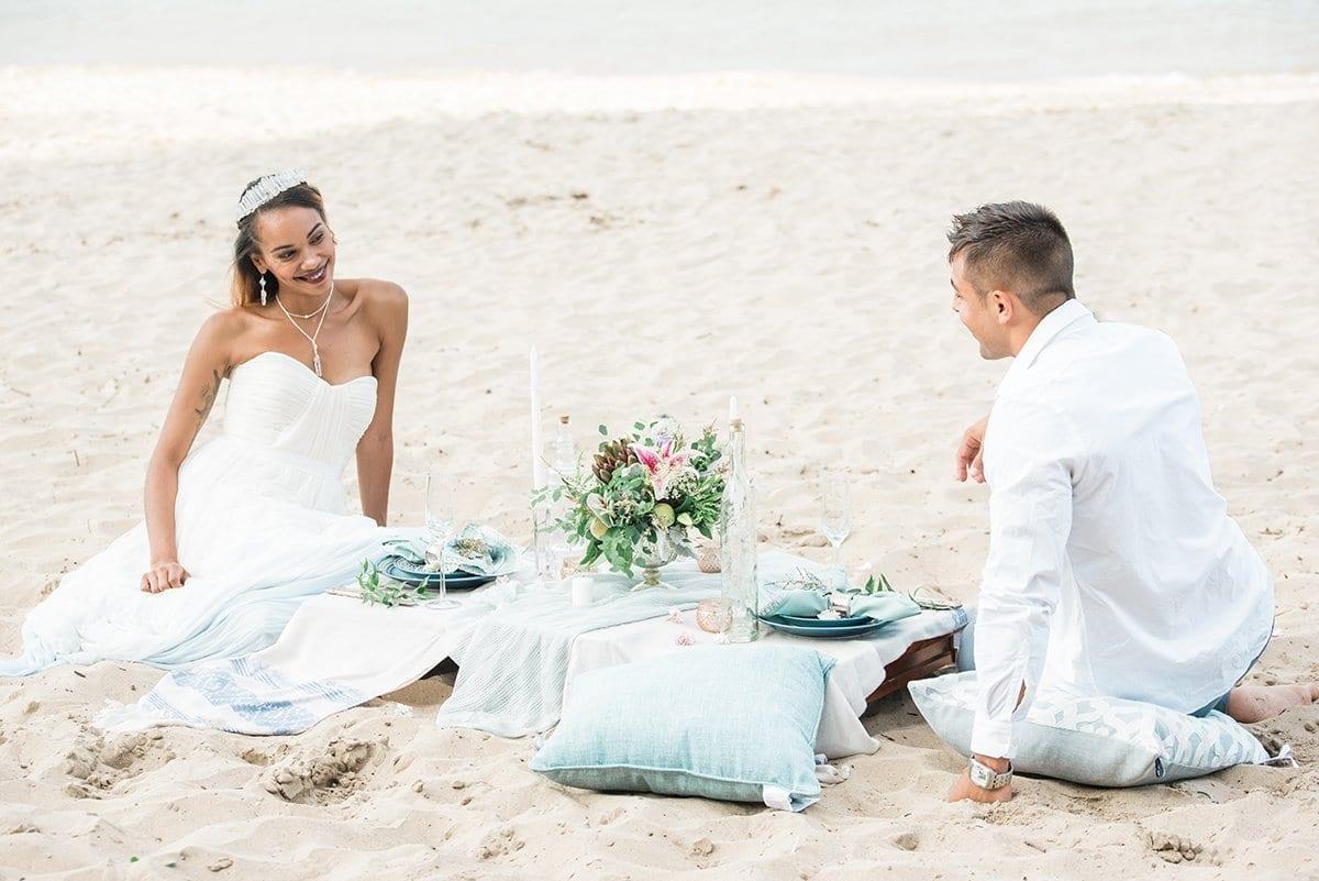 Elegant Beach Elopement