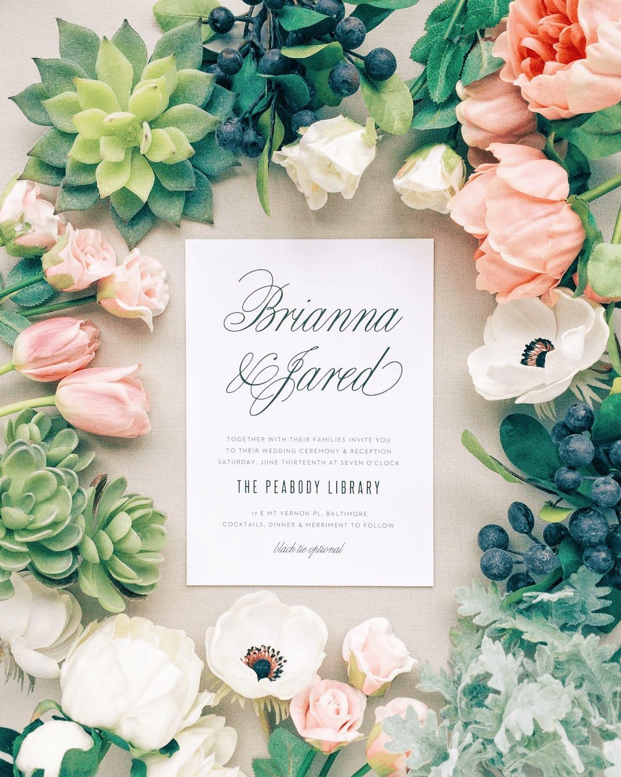 Wedding Day Detail - Basic Invite